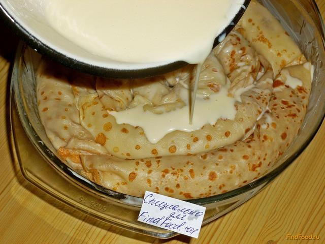 Блинный торт рецепт с мясом фото пошагово в домашних условиях