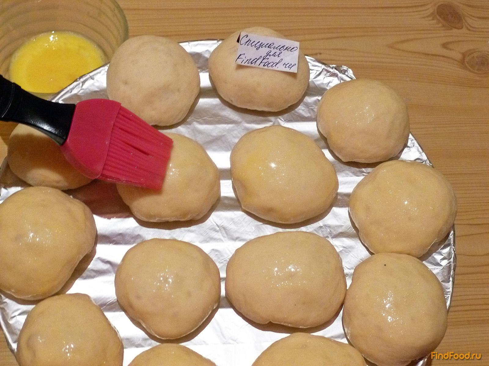 пирожки в духовке дрожжевые с яйцом рецепт