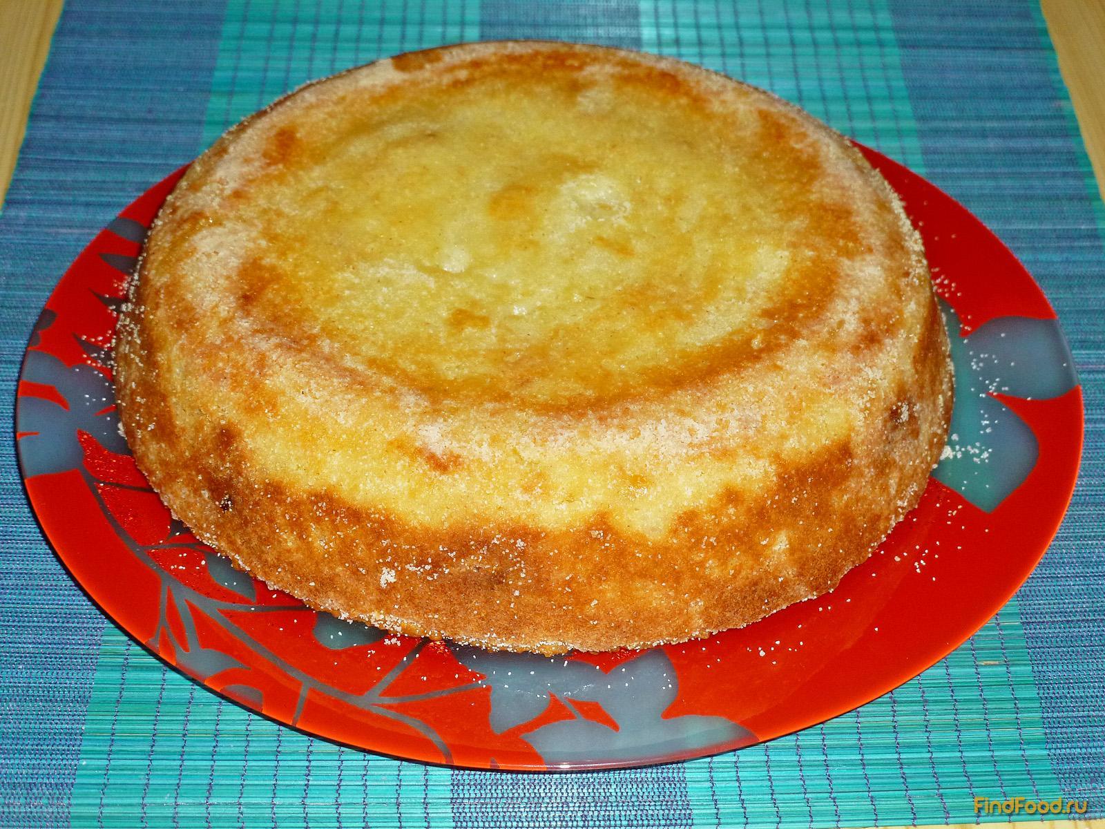 Крупеник из риса и пшена с вишней рецепт с фото 8-го шага