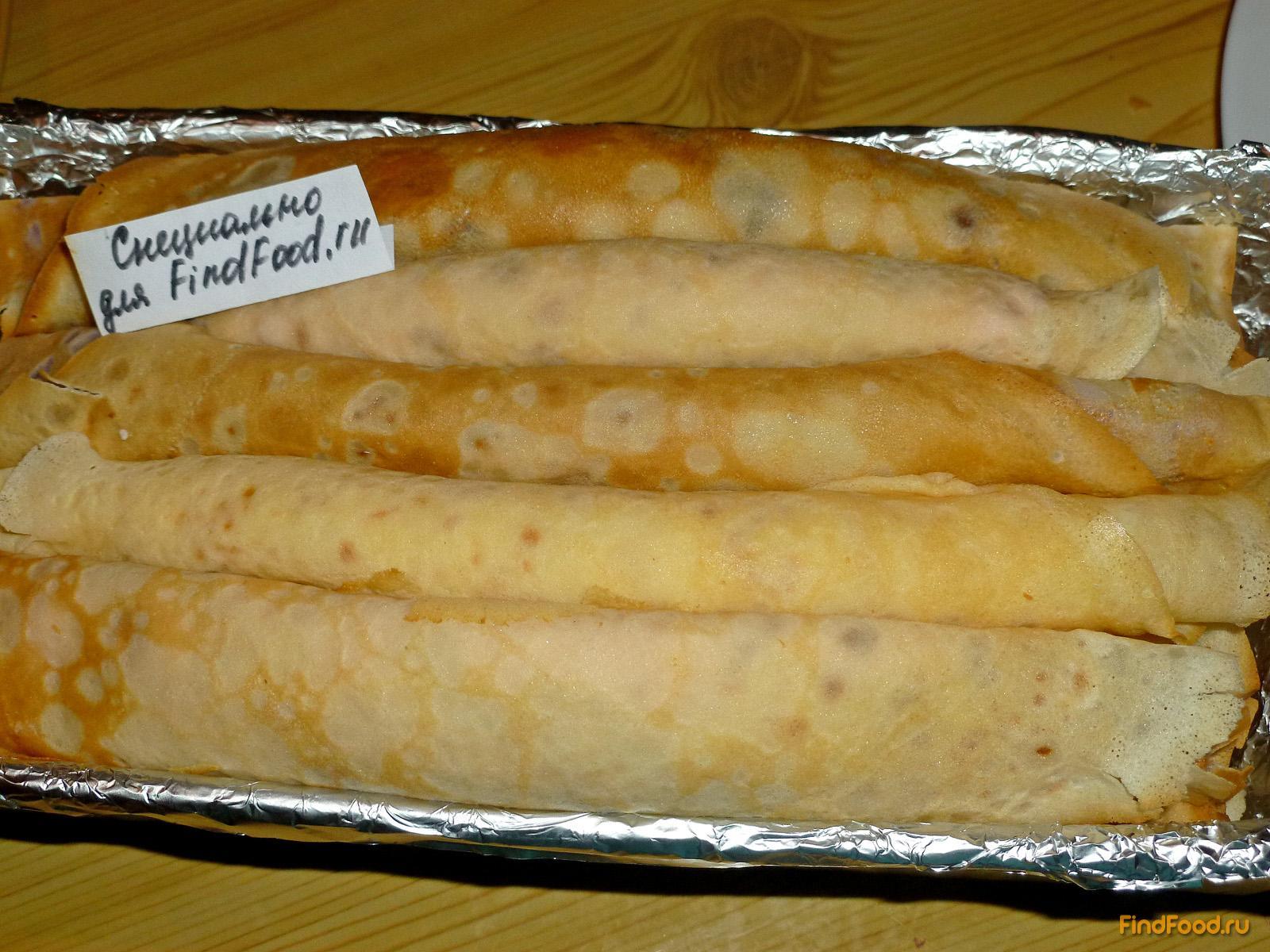 Трубочки с джемом рецепт пошагово