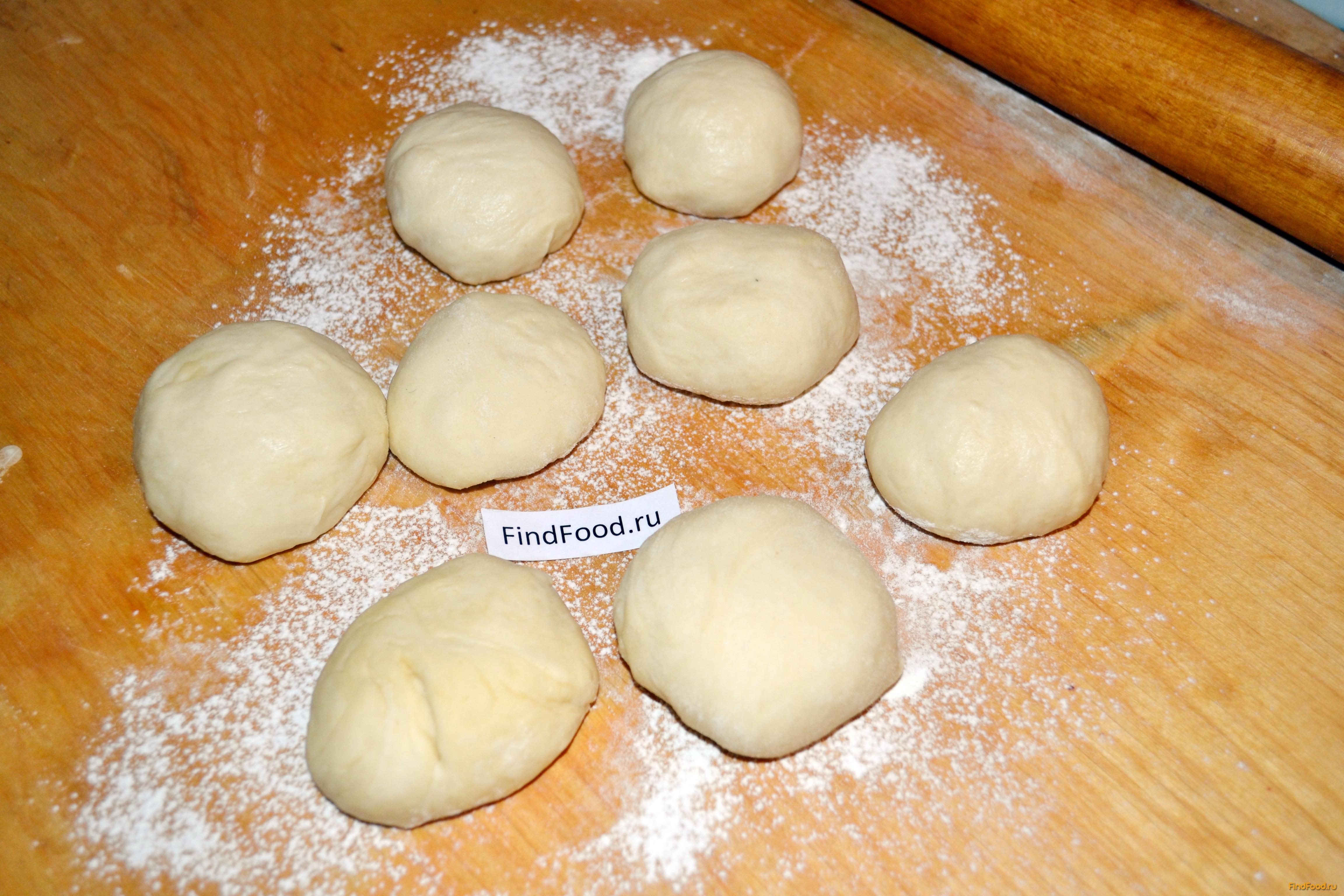 Пирожки на воде пошаговый рецепт