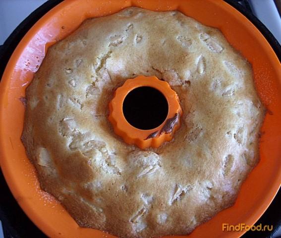 Кекс с яблоками рецепт с фото 6-го шага