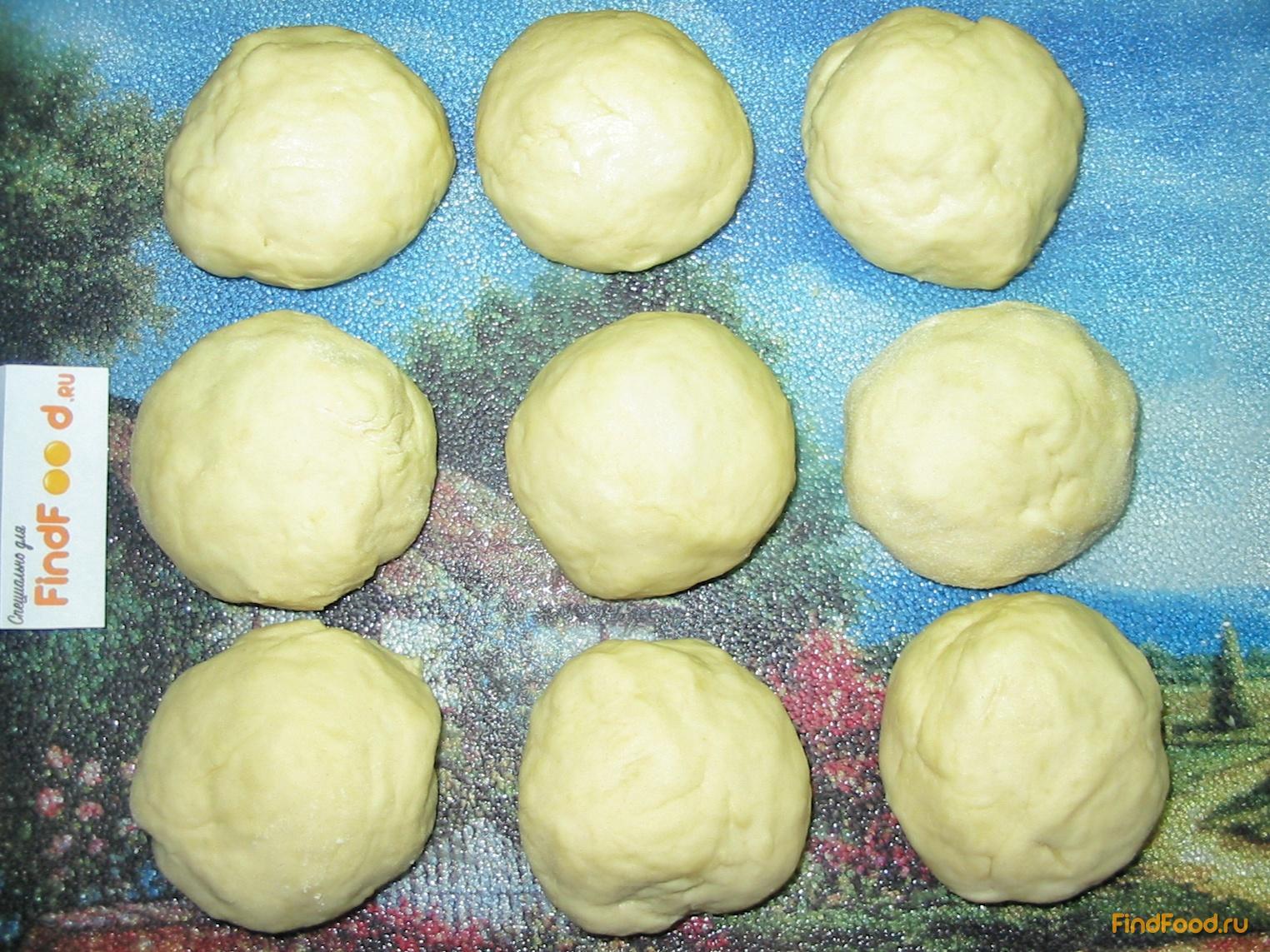 плюшки на кефире рецепт с фото