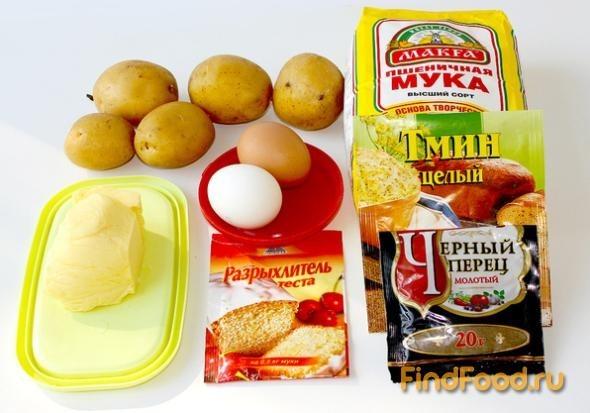 Лепешки из картофельного пюре рецепт с фото 1-го шага