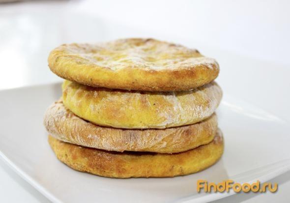 Лепешки из картофельного пюре рецепт с фото 7-го шага