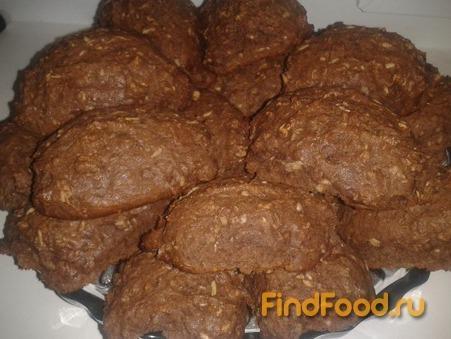 Овсяное печенье с какао