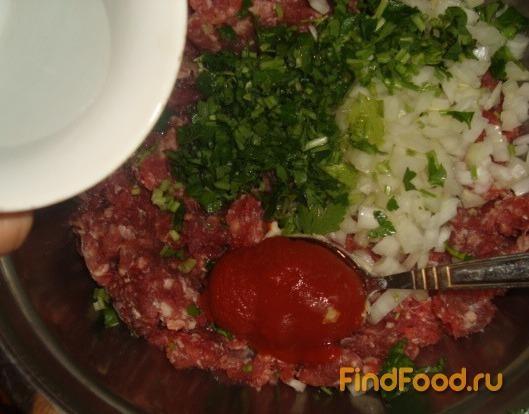 Лахмаджун турецкая пицца рецепт с фото 3-го шага