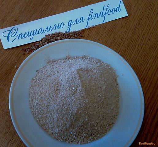 Блины с гречкой рецепт с фото 1-го шага