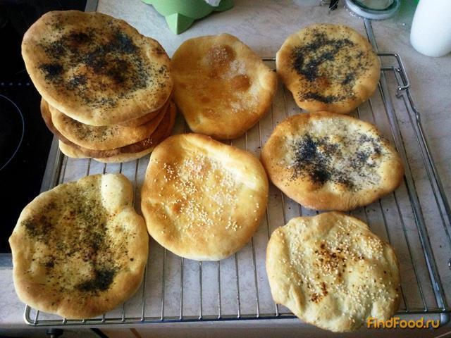 Лепешки наан рецепт с фото 11-го шага