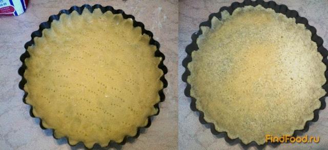 Песочный пирог с черной смородиной - фото 5 шага