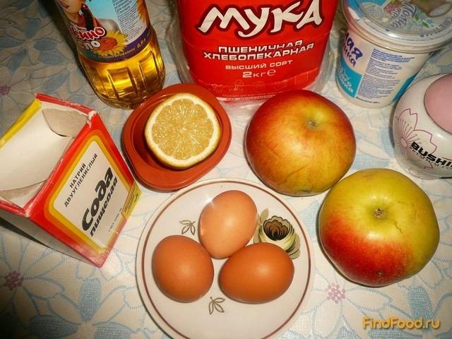 Быстрый яблочный пирог рецепт с фото 1-го шага