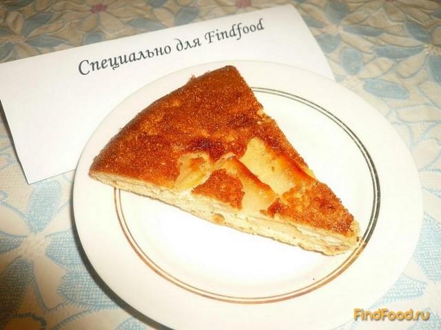 Быстрый яблочный пирог рецепт с фото 13-го шага