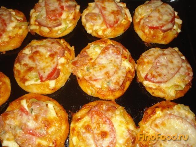 мини пицца рецепты с