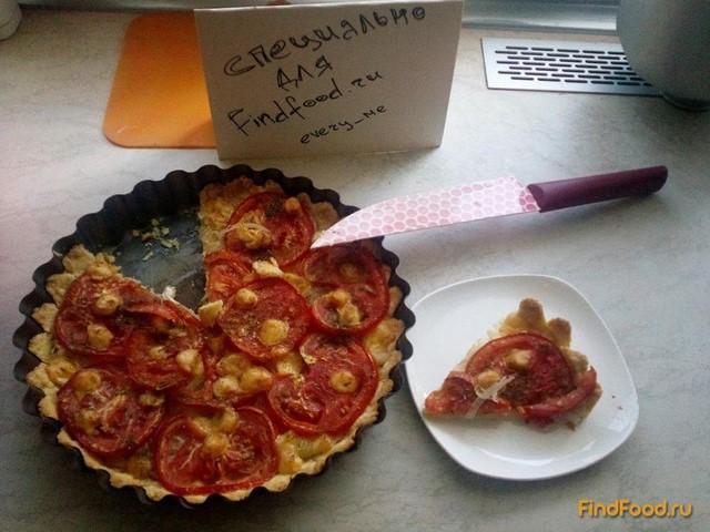 Пирог с луком и помидорами рецепт с фото 11-го шага