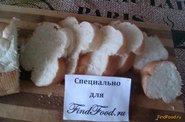 Сладкие ванильные гренки рецепт с фото 1-го шага