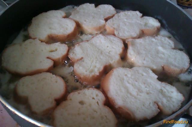 Сладкие ванильные гренки рецепт с фото 4-го шага