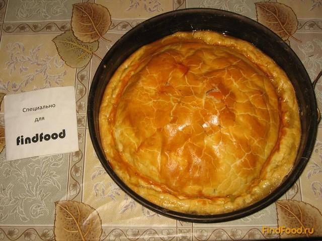 Пирог с щавелем из слоеного теста рецепт с фото 6-го шага