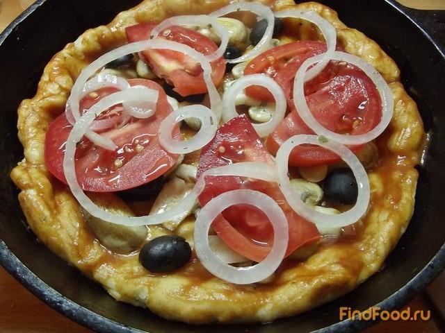 Заливная пицца рецепт с фото