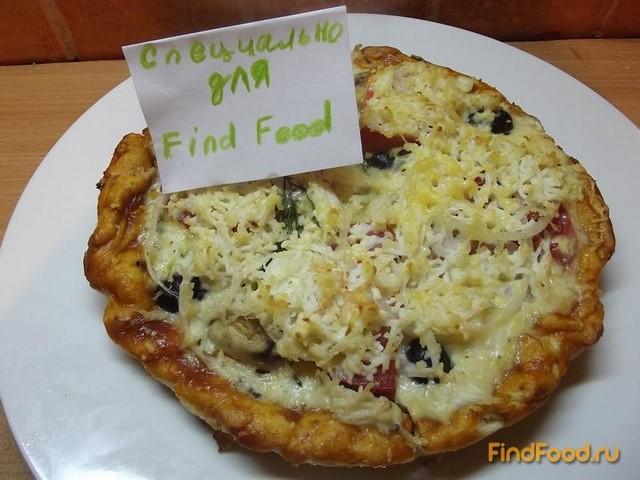 Заливная пицца в духовке рецепт