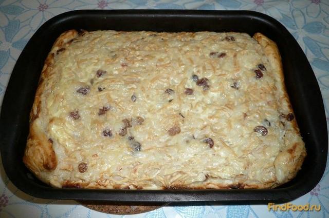 Рецепт пирог с изюмом и рисом рецепт пошагово