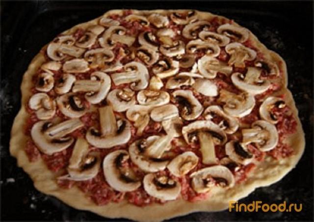 пицца рецепт из фарша в домашних условиях в духовке