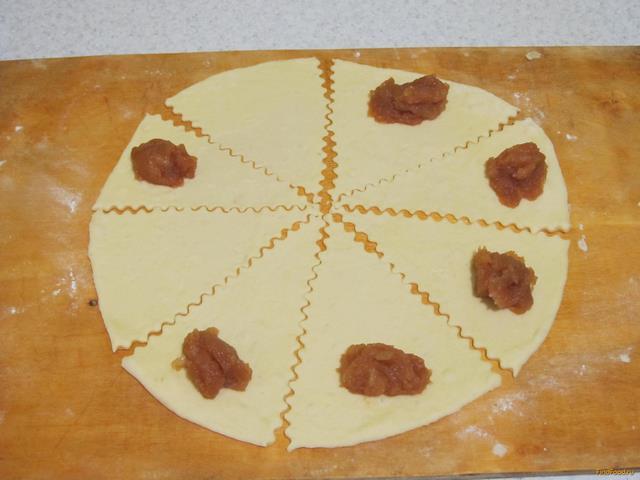треугольники с повидлом рецепт с фото