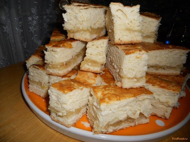 Рецепт тортам из слоеного теста с фото
