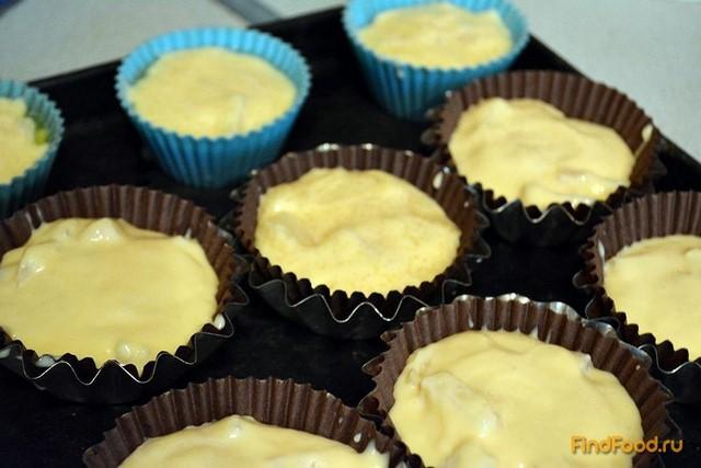 Маффины с ананасом рецепт с фото 5-го шага