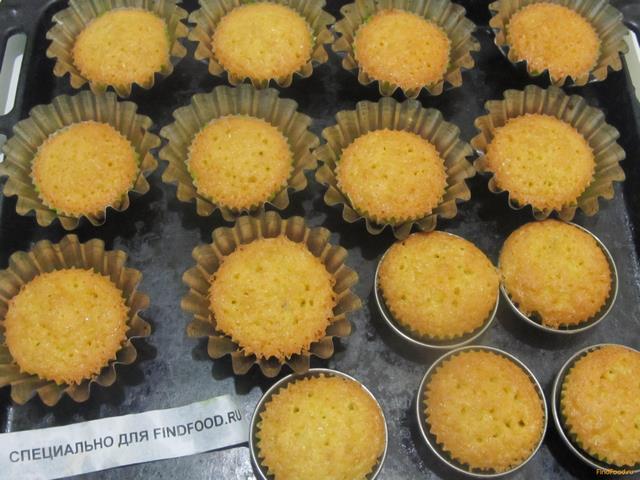 Кокосовые кексы рецепт с фото 7-го шага