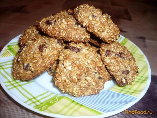 Рецепт овсяных печений с фото