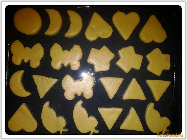 Печенье в формочках рецепт с фото 5-го шага