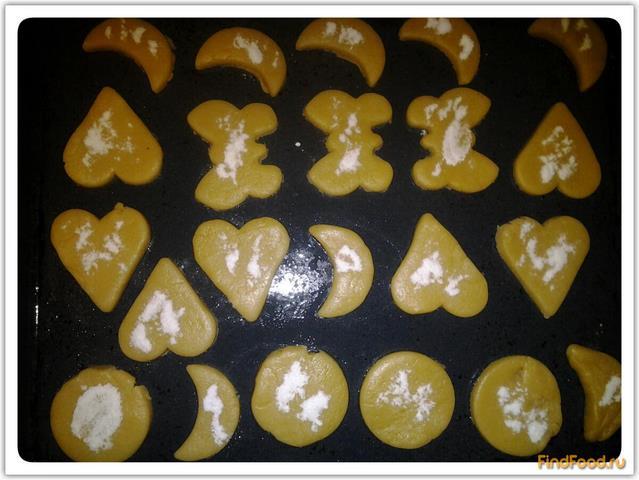 Печенье в формочках рецепт с фото 6-го шага