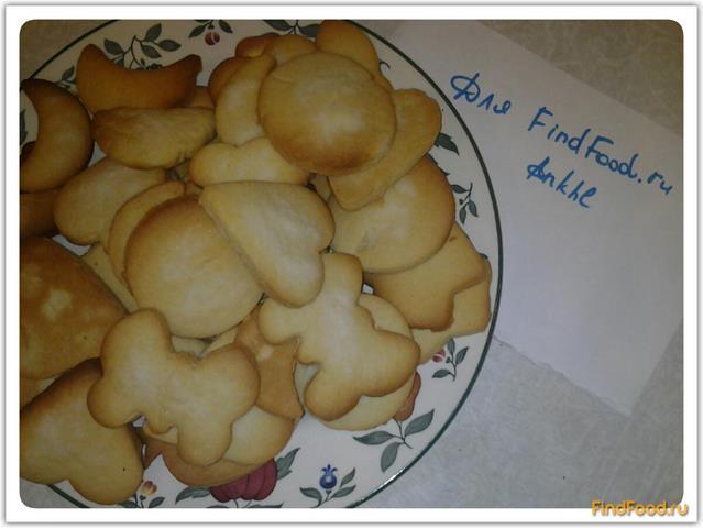 Печенье в формочках рецепт с фото 7-го шага
