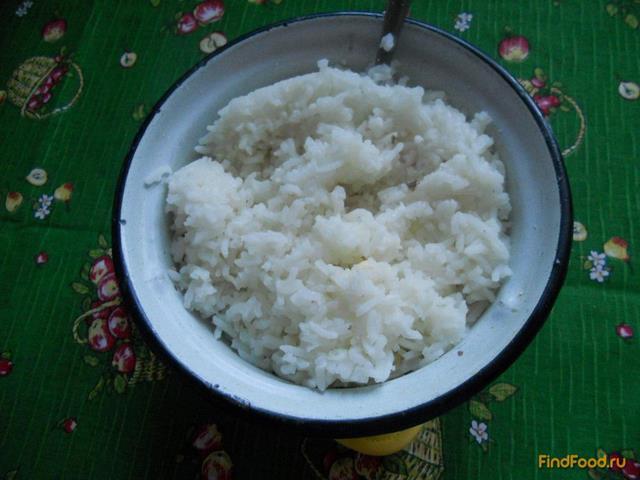 Быстрый пирог с консервами и рисом рецепт с фото 5-го шага