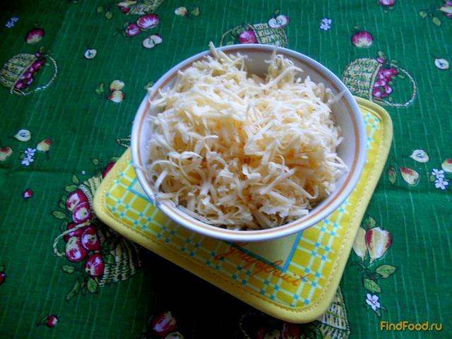 Быстрый пирог с консервами и рисом рецепт с фото 12-го шага