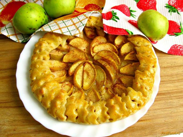 Рецепт Галета с яблоками рецепт с фото