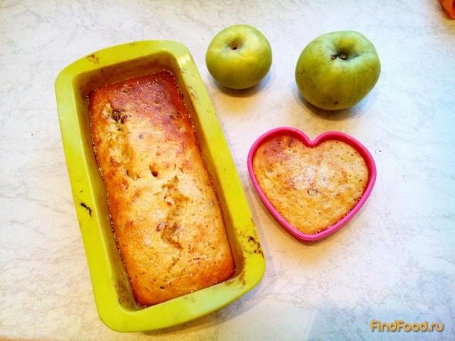 Рецепт Яблочный манник с изюмом рецепт с фото