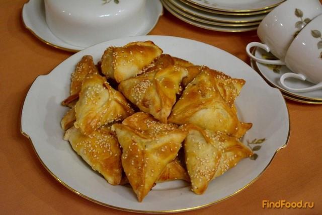 Рецепт Самса крымская с курицей рецепт с фото