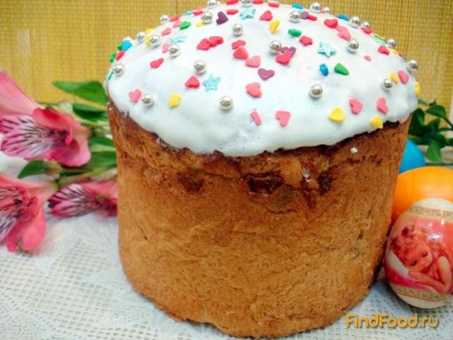 Рецепт Пасхальные куличи рецепт с фото