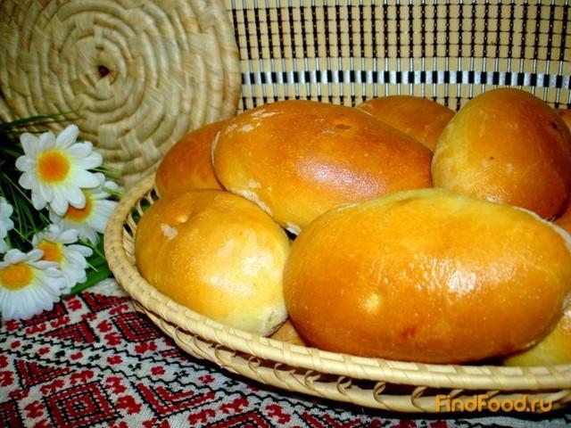 Рецепт Пирожки с луком и яйцом и с начинкой из печени рецепт с фото