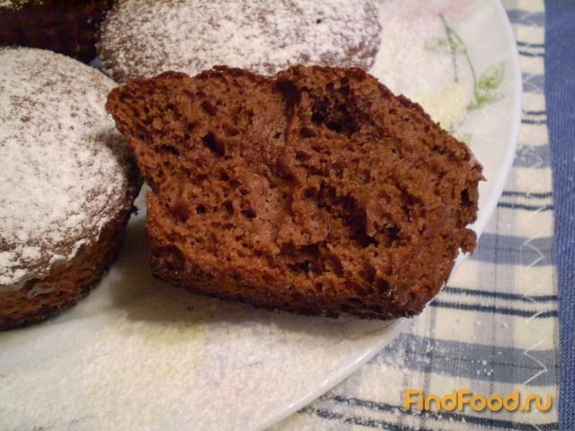 Рецепт Шоколадные кексы на сгущенке рецепт с фото
