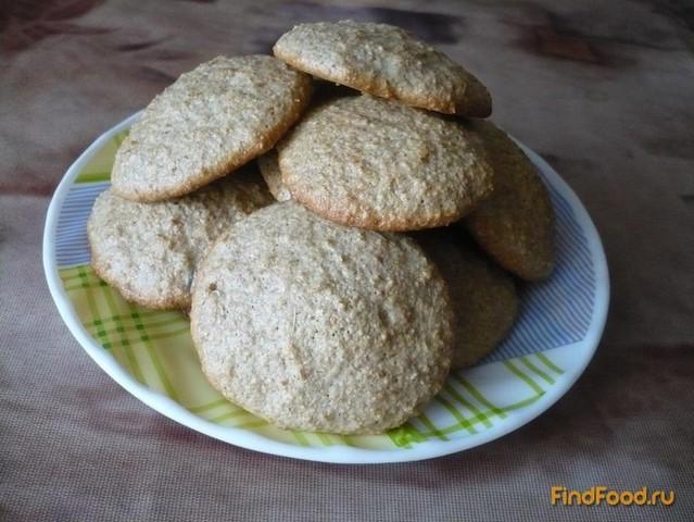 Рецепт Печенье на овсяных отрубях рецепт с фото