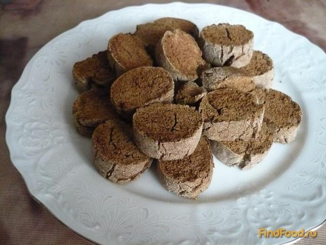 Рецепт Ржаные шоколадные бискотти рецепт с фото
