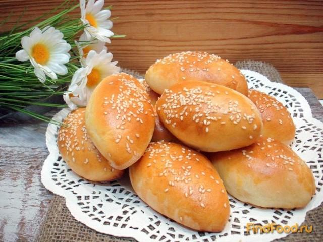 Рецепт Пирожки с мясом на айране или кефире рецепт с фото