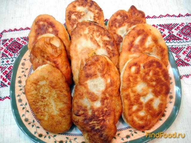 Рецепт Картофельное дрожжевое тесто и пирожки с ним рецепт с фото