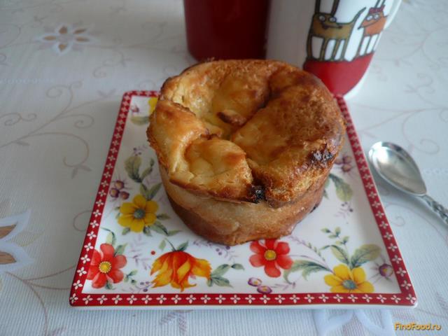 Рецепт Фальшивая булочка с яблочной начинкой рецепт с фото