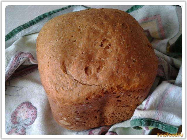 Рецепт Ржано-пшеничный хлеб в хлебопечке рецепт с фото