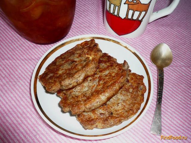 Рецепт Овсяные оладушки с льняной мукой рецепт с фото