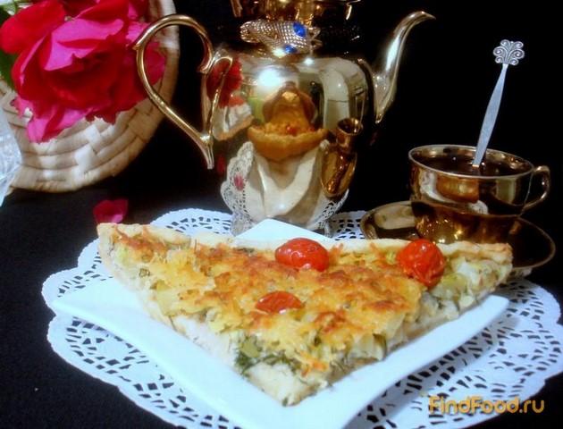 Рецепт Тарт из кабачков рецепт с фото