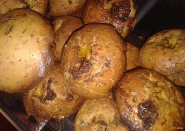 Рецепт Шоколадно-апельсиновые маффины рецепт с фото